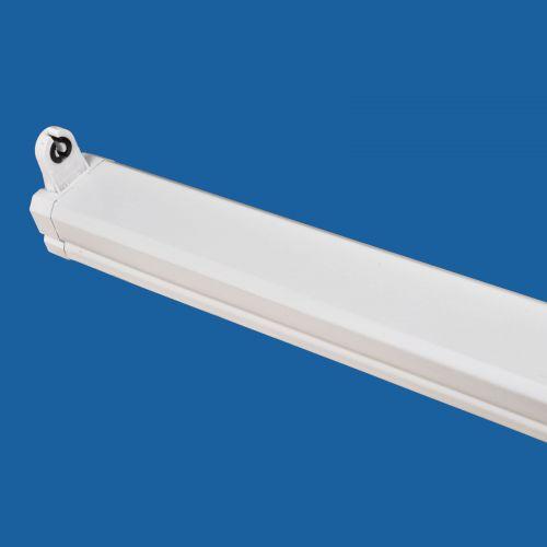 Lichtschiene, Leuchte, Lichtleiste T8 1x58 Watt, EVG, IP20 weiß - 2