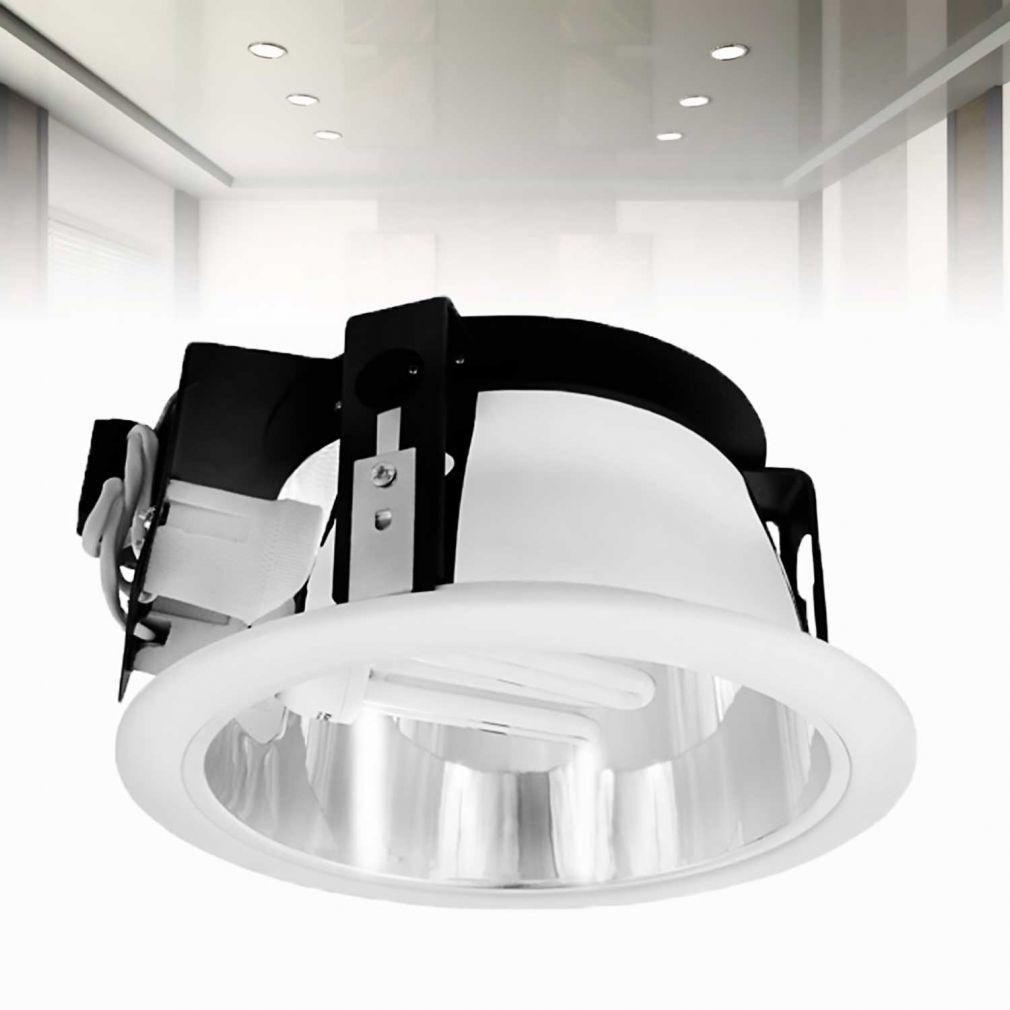 Downlight deckenlampe einbaulampe leuchte for Deckenlampe e27