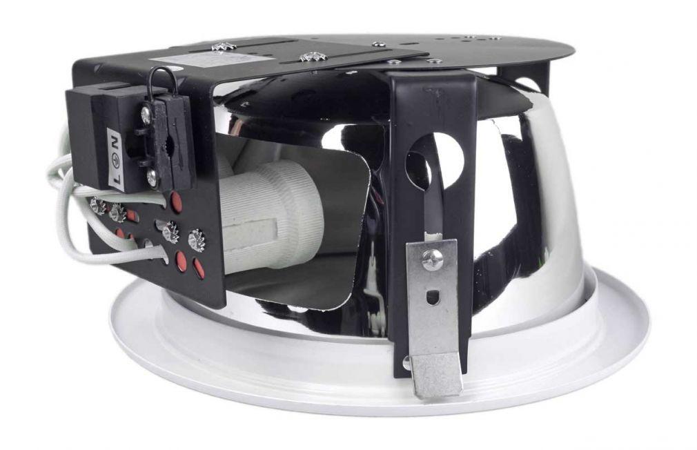 Downlight, Deckenlampe, Einbaulampe, Leuchte, Einbaudownlight max. 2x20Watt E27 - 2