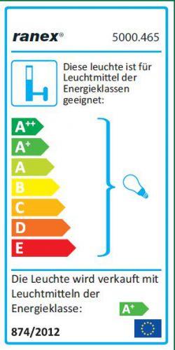 SMD LED-Außenwandleuchte, Wandlampe, Außenlampe, Leuchte, Licht, LED, Rund - 2