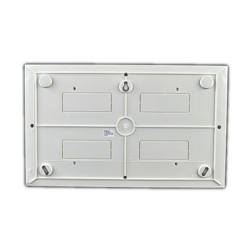 Verteiler mit DIN-Schiene Schaltkasten Verteilerschrank 18 Module 362x220x95 mm - 4