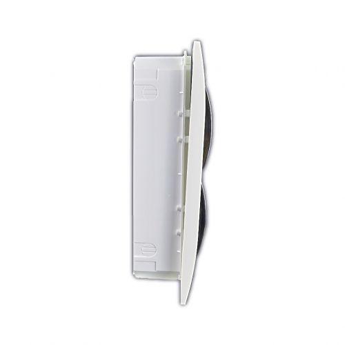 Verteiler mit DIN-Schiene Schaltkasten Verteilerschrank 24 Module 258x310x65 mm - 3