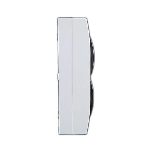 Verteiler mit DIN-Schiene Schaltkasten Verteilerschrank 24 Module 270x326x100 mm - 4