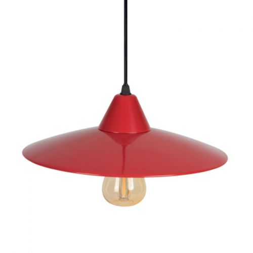 deckenleuchte im retro design rot vintage leuchte arnolicht. Black Bedroom Furniture Sets. Home Design Ideas