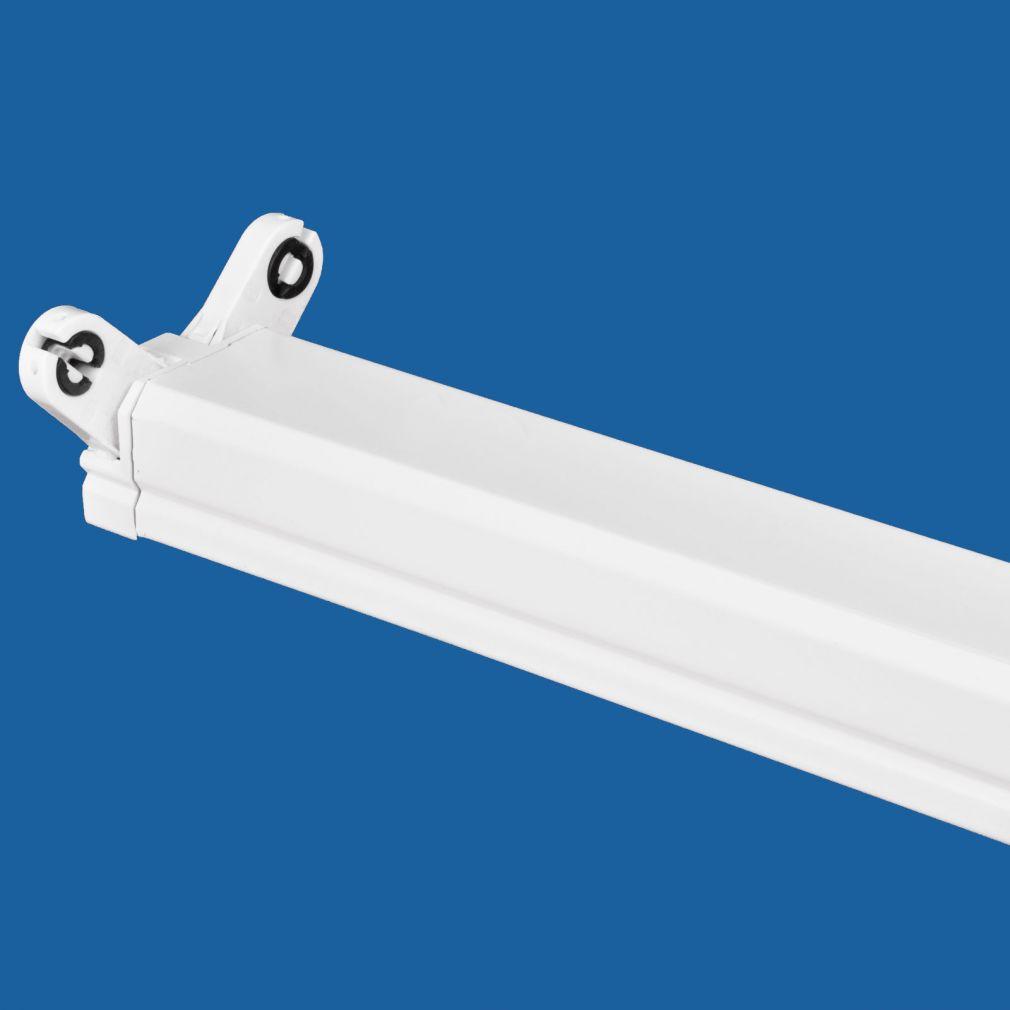 Lichtschiene, Leuchte, Lichtleiste T8 2x58 Watt, EVG, IP20 weiß - 2