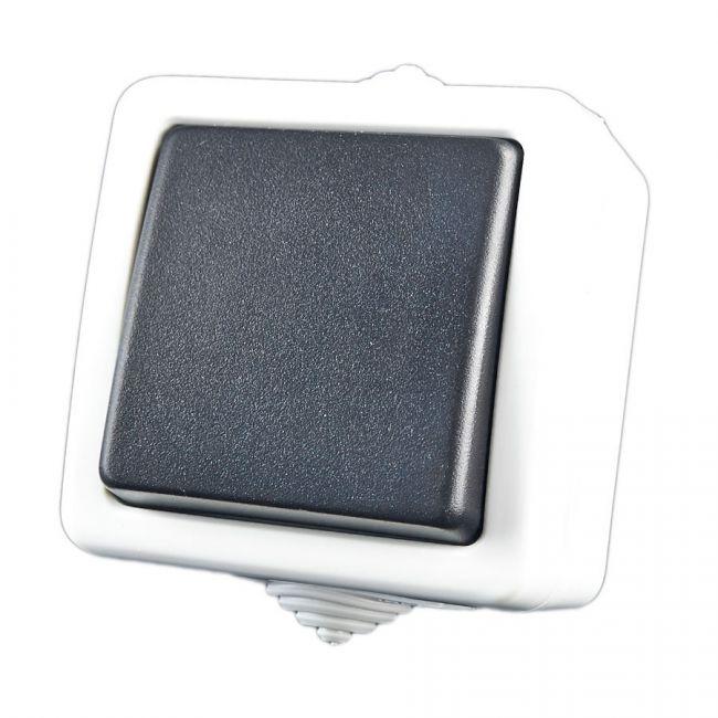 2 wege schalter treppenschalter aufputz feuchtraumschalter arnolicht. Black Bedroom Furniture Sets. Home Design Ideas