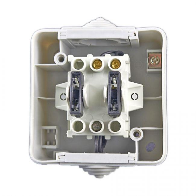 feuchtraum klingeltaster klingelschalter mit led kontroll. Black Bedroom Furniture Sets. Home Design Ideas