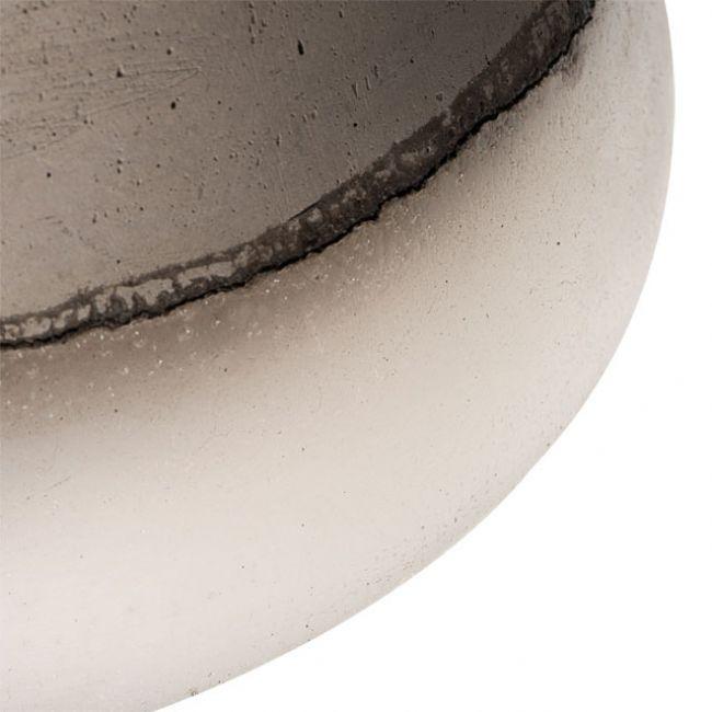 Moderne deckenleuchte deckenlampe betonoptik keramik e27 for Moderne deckenlampe