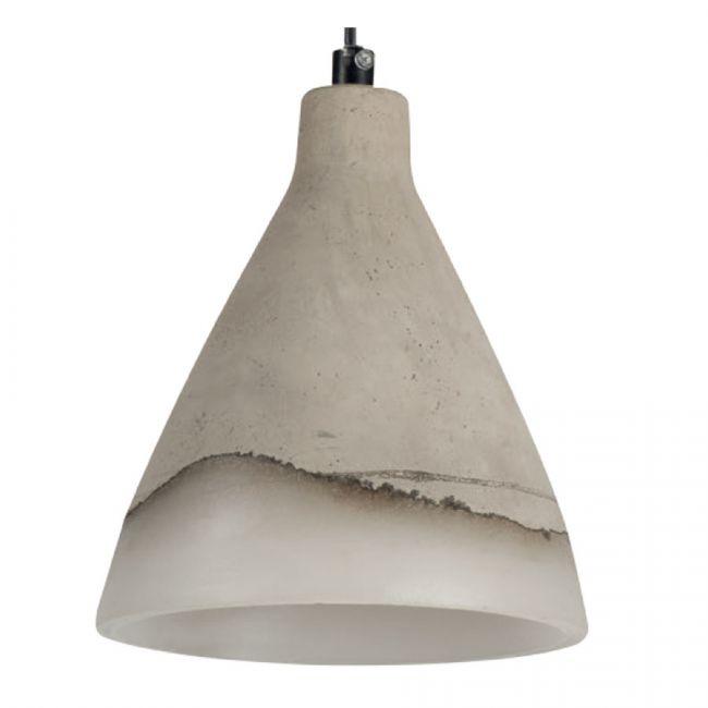 Stilvolle deckenleuchte deckenlampe betonoptik keramik for Deckenlampe e27