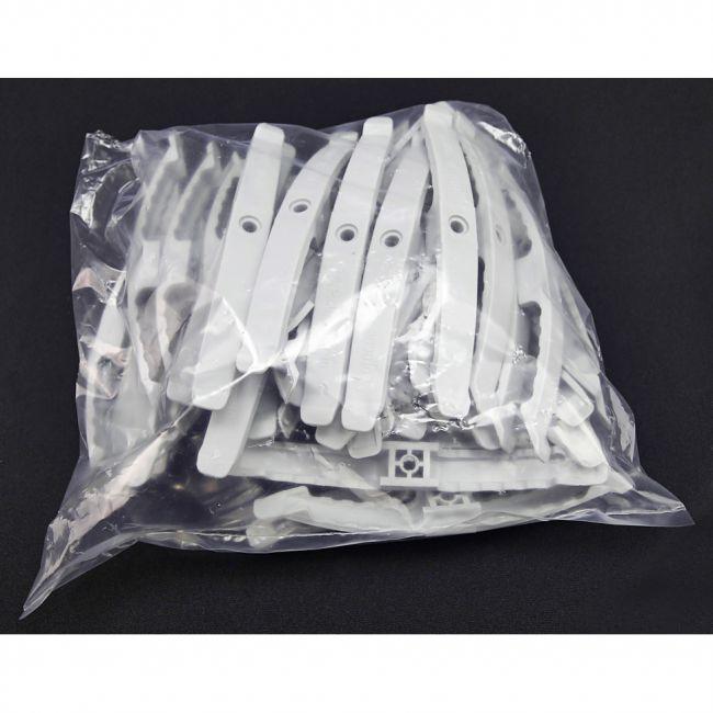 25x Kabelklemmbügel, Kabelhalter, für 10x NYM 3x1,5mm - 2