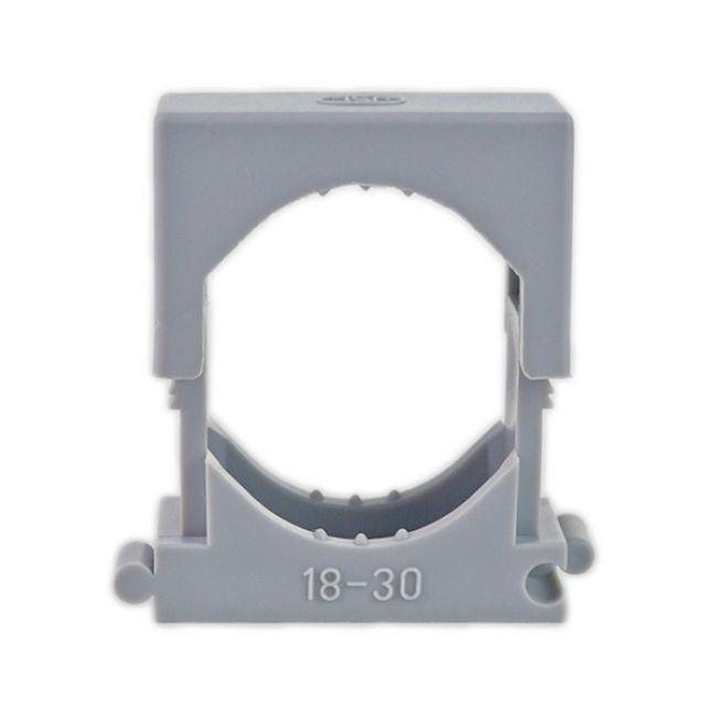 50x Reihen Druckschelle Spannbereich 18-30mm, Clipschelle, Rohrschelle, Kunststoffrohr - 2