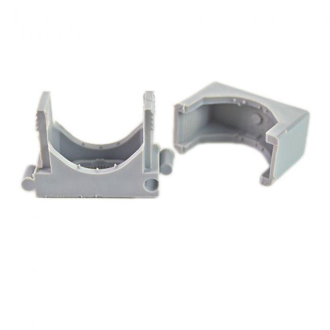 50x Reihen Druckschelle Spannbereich 18-30mm, Clipschelle, Rohrschelle, Kunststoffrohr - 3