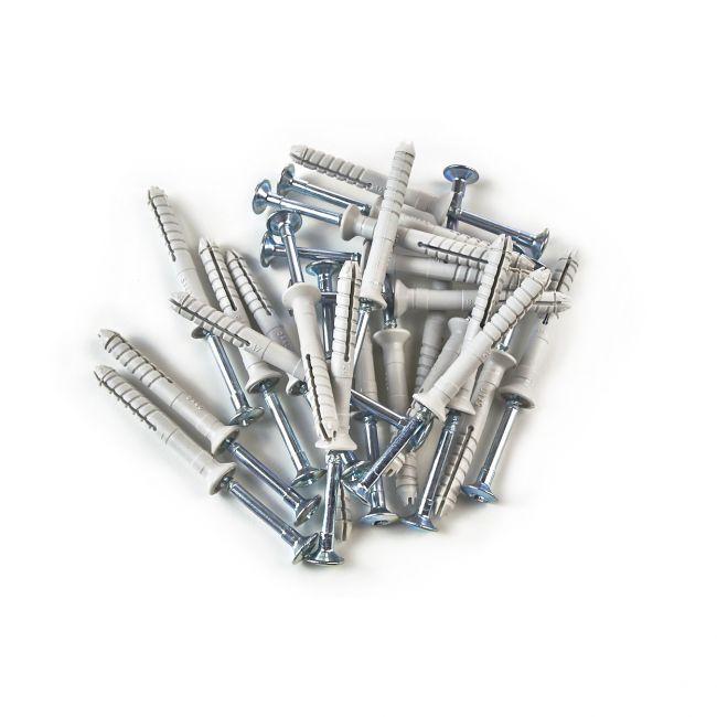 100x Nageldübel mit Senkkopf 5x40, Schlagdübel, Nagelanker - 2