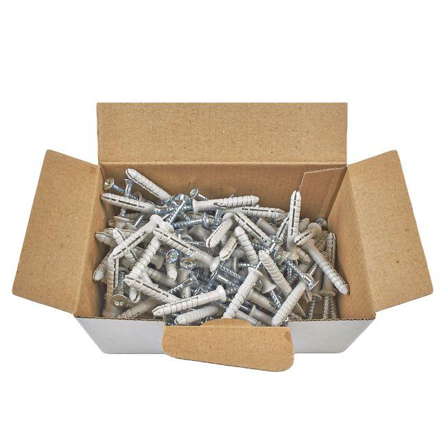 100x Nageldübel mit Senkkopf 5x40, Schlagdübel, Nagelanker - 3