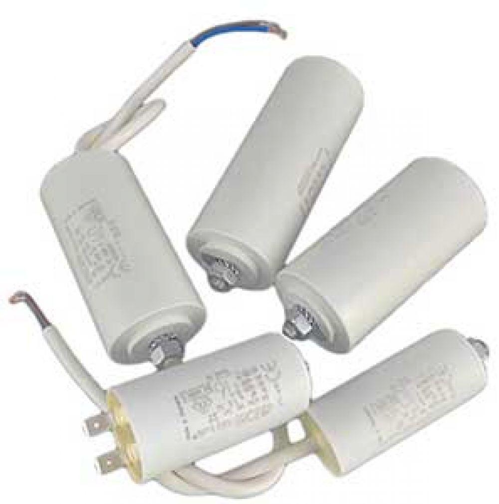 1 uF Motorkondensator Betriebskondensator 1 µF Steckanschluss Kondensator - 11