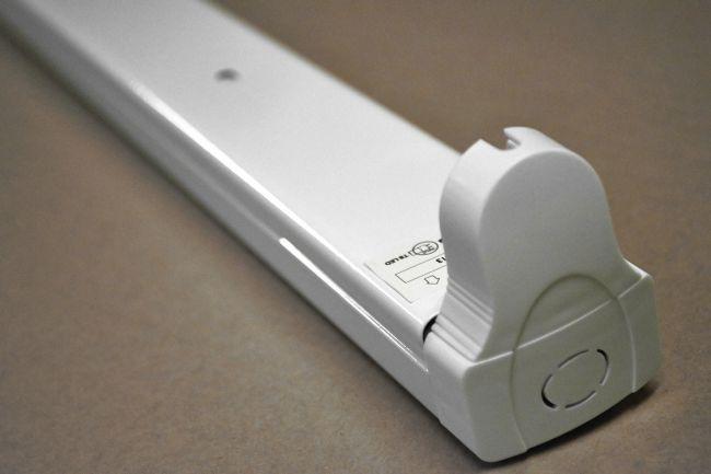 Halterung Fassung für 1x 120cm LED Röhren, LED Fassung, Leuchte für LED T8, G13 - 2
