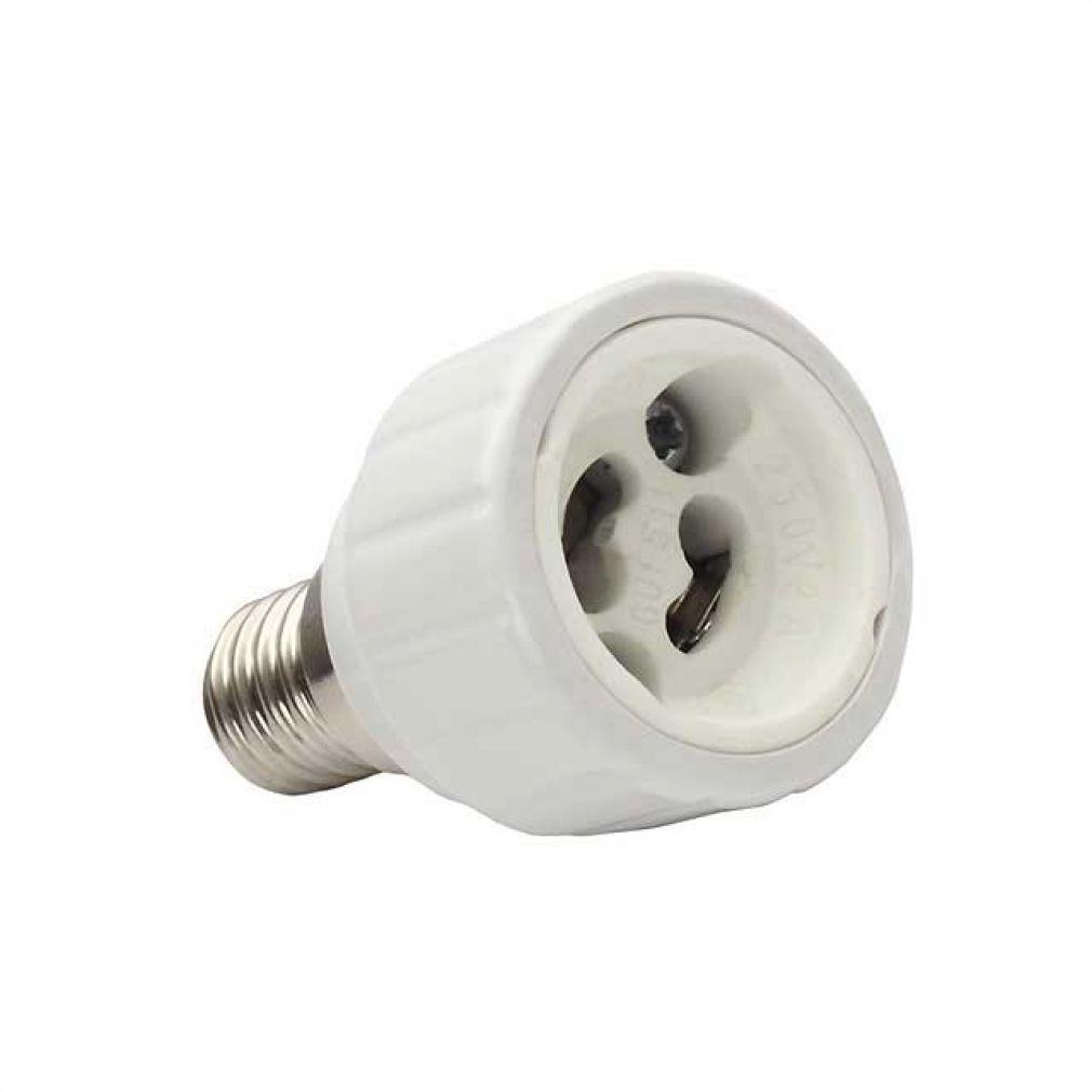 adapter e14 auf g10 gz10 geeignet f r led und halogenlampen arnolicht. Black Bedroom Furniture Sets. Home Design Ideas
