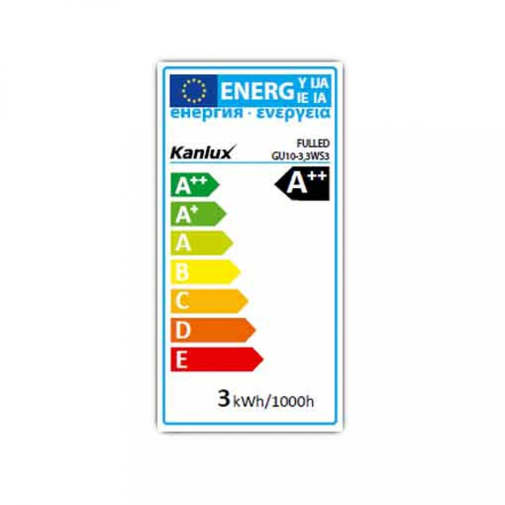 3,3 Watt LED Lampe, Sockel GU10 230V Spot 3,3W Leuchtmittel 36° Strahler warmweiss - 11