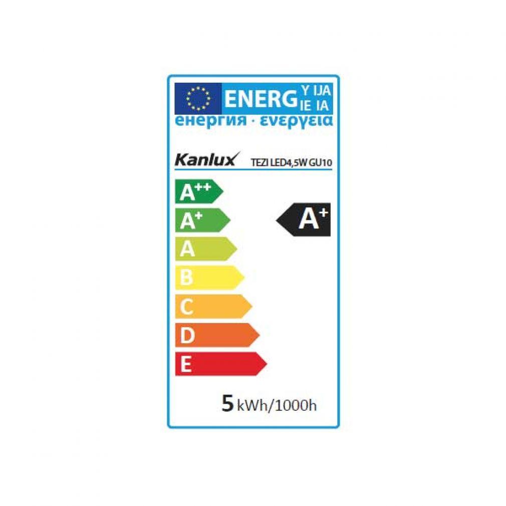 4,5W LED Spot, GU10 Strahler neutralweiss, LED Lampe, LED-Licht , Spot - 11