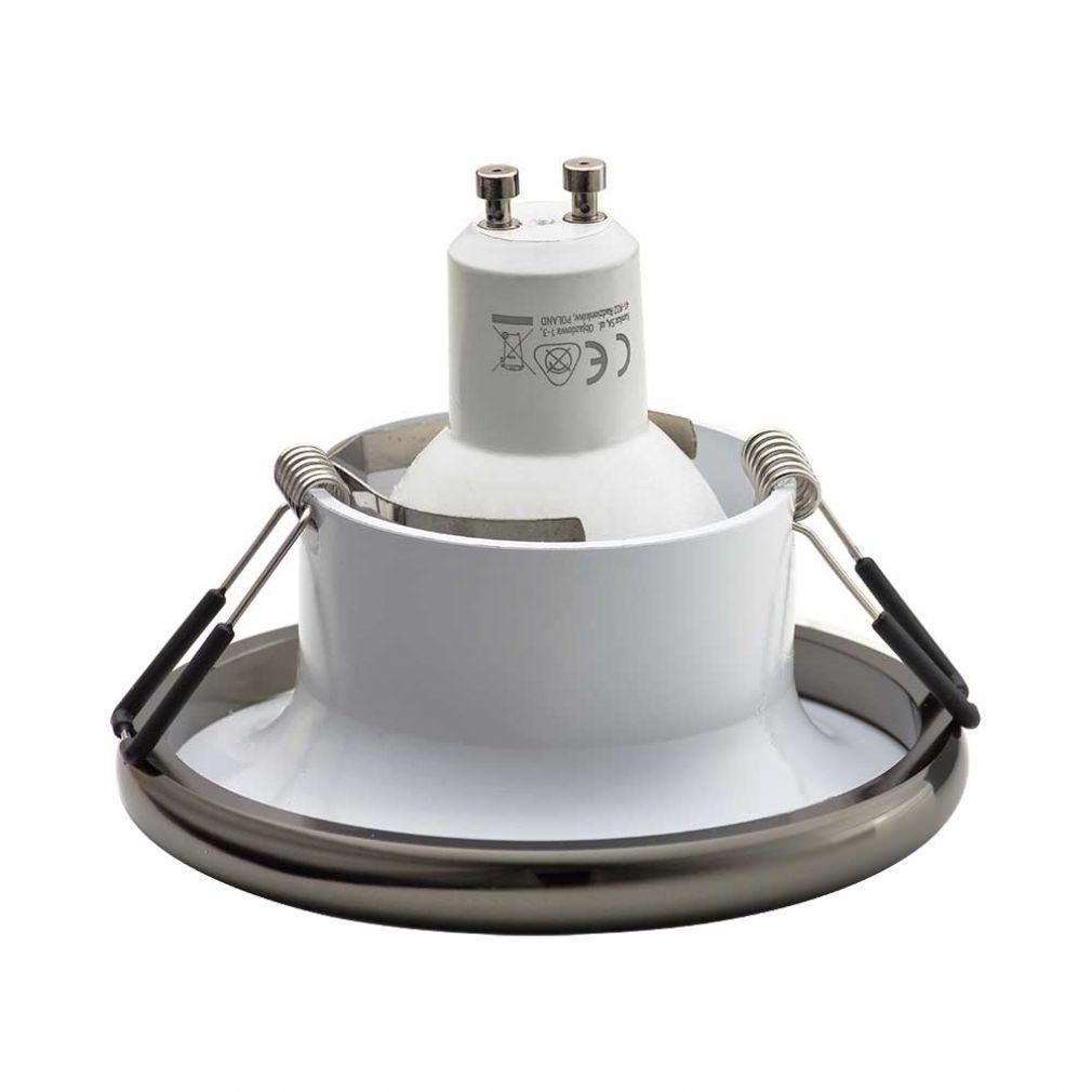 Einbaustrahler Elnis-S Deckeneinbau Leuchte Lampe Einbau-Downlight anthrazit weiss - 2