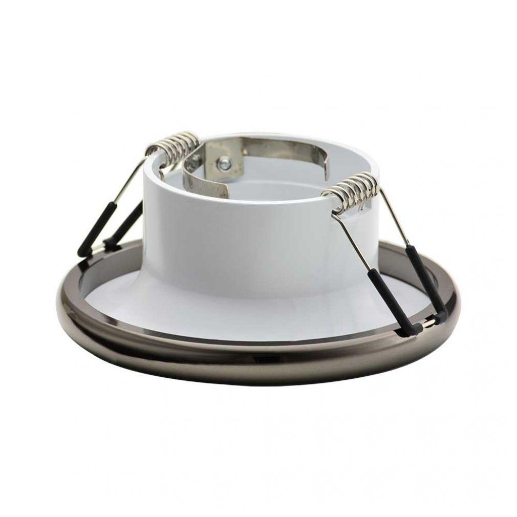 Einbaustrahler Elnis-S Deckeneinbau Leuchte Lampe Einbau-Downlight anthrazit weiss - 3