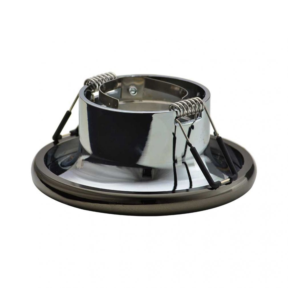 Einbaustrahler Elnis-S Deckeneinbau Leuchte Lampe Einbau-Downlight anthrazit chrome - 3
