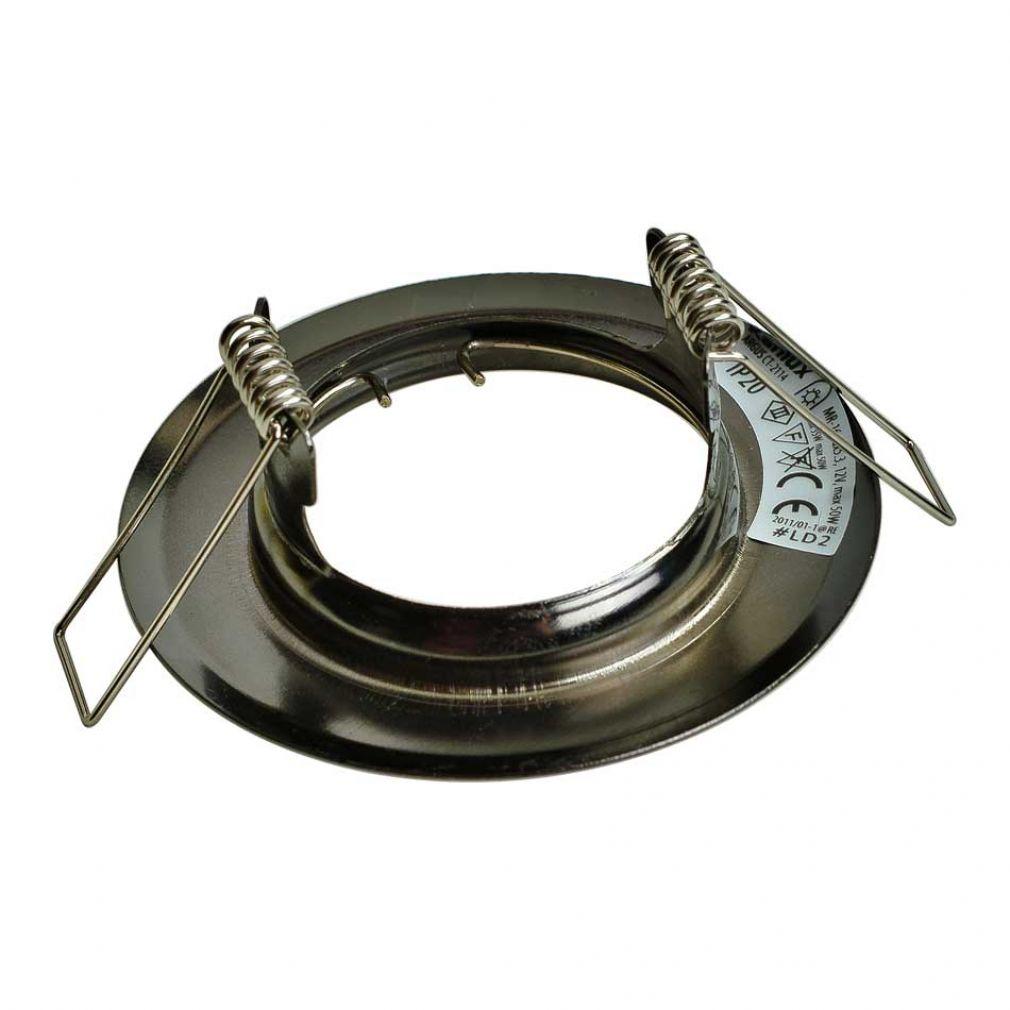 LED Halogen Einbaurahmen MR16, GU10 Gx5,3 antik Kupfer Einbauspot, Einbaustrahler - 2