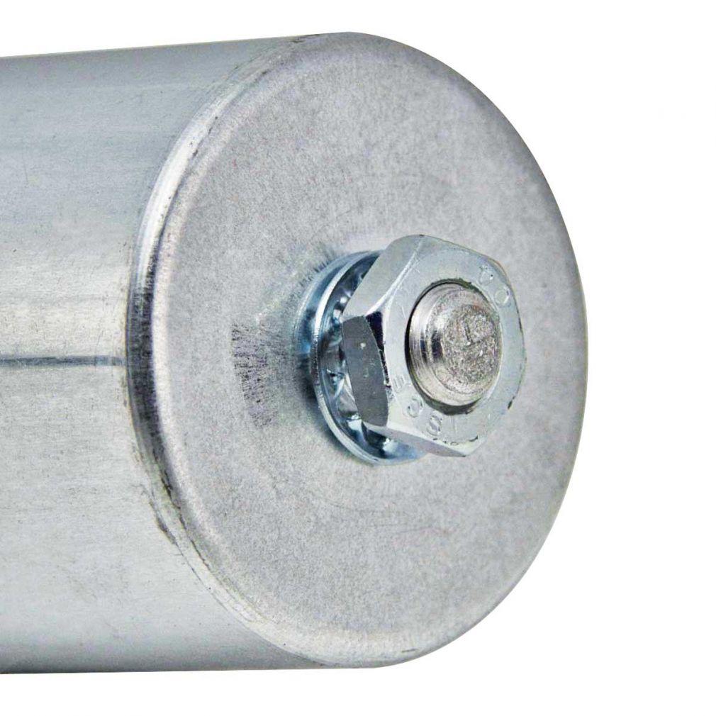 16 uF Motorkondensator Betriebskondensator 16 mF Kondensator Kabelanschluss Alubecher - 2