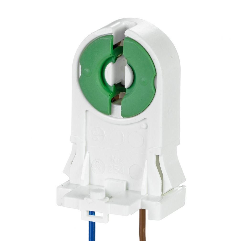aufsteckfassung fassung leuchtstofflampe 26mm t8 starter. Black Bedroom Furniture Sets. Home Design Ideas