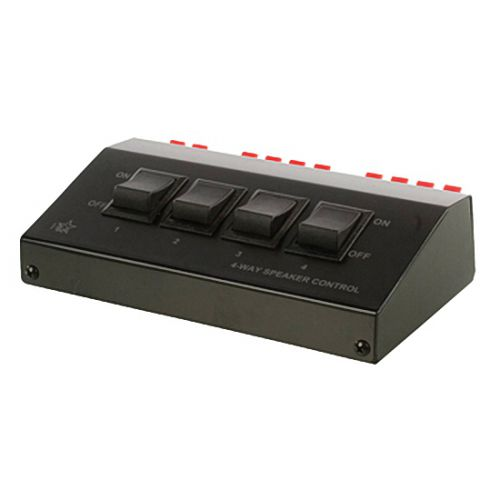 4fach lautsprecher verteiler schaltbox 1in 4 out. Black Bedroom Furniture Sets. Home Design Ideas