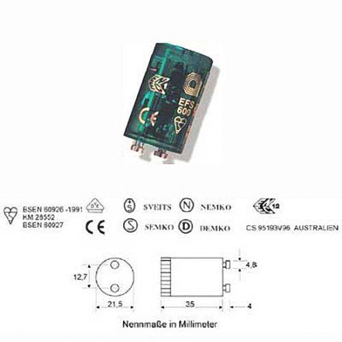 elektromechanischer pulsstarter 15 22 watt leuchtstofflampe neonr hre ebay. Black Bedroom Furniture Sets. Home Design Ideas