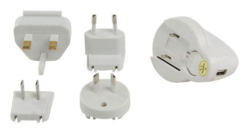 USB-REISELADER FÜR IPOD® mit 4 Reiseadaptern - 3