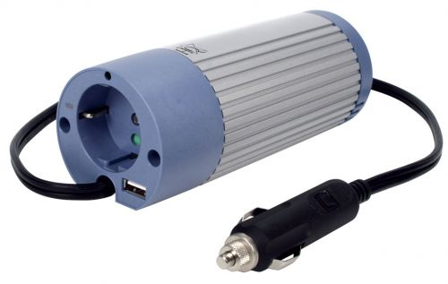 WECHSELRICHTER + USB-PORT 12V -> 230V 100W  Inverter