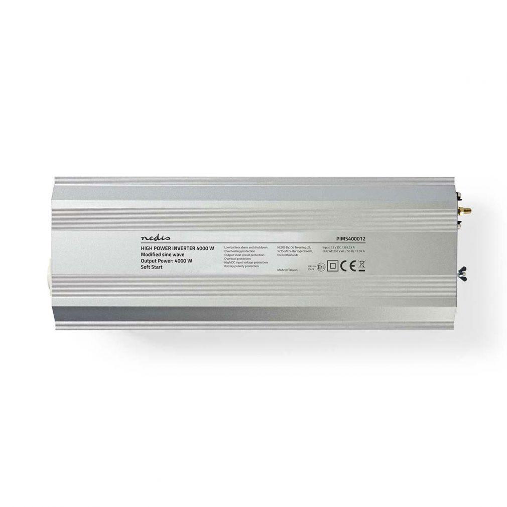 WECHSELRICHTER 12V -> 230V 4000W Spannungswandler - 3